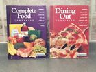 RARE SET WEIGHT WATCHERS Winning Points COMPLETE FOOD DINING OUT COMPANION Books