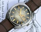 Vintage Enicar Star Jewels Day Date Swiss mens automatic watch 167 24j movement