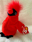 MAC Ty Beanie Baby- RARE Cardinal Plush Collectible -I have two identical