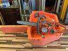 Husqvarna 137 Chainsaw With Case & Wrench