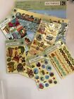 HUGE Lot of KCompany Actopus To Zelephant Paper And Scrapbooking embellishments