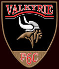 HONDA VALKYRIE EMBROIDERED PATCH ~4-1/2