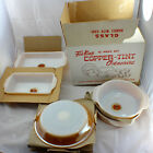 Anchor Hocking Fire King 12 Piece Ovenware Set in the Copper Unused Boxed 1960's