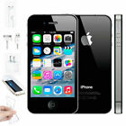 Apple iPhone 4S 8GB Black Sim Free Factory GSM + CDMA Unlocked Smartphone