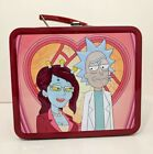 Rick And Morty Adult Swim Loungefly Metal Lunchbox Lunch Box Tin New 8x7x5