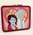 Rick And Morty Adult Swim Loungefly Missprint Metal Lunchbox Lunch Box Tin
