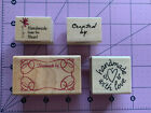 Inkadinkado Hero Arts Rubber Stamps Handmade By With Love From The Heart Created