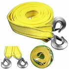 4pack 20ft Tow Strap Rope Hooks 8 Tons 14000lbs Heavy Duty Jeep CJ auto UTV US