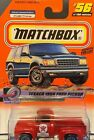 Texaco 1956 Ford PickUp Jimmy's Road Service MATCHBOX #56 FREE SHIPPING