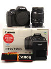 CANON EOS 1300D DSLR CAMERA & EF-S 18-55MM IS II LENS *MINT* *LOW SHUTTER COUNT*