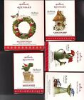 Hallmark Marjolein's Garden Series 2018 - 2014 Ornament LOT 5