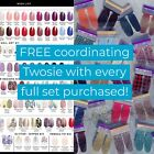 Color Street Nail Polish with FREE TWOSIE accent nails and QUICK SHIP