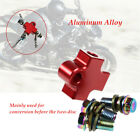 Motorcycle Hydraulic Brake System Hose Line Pipe Tee Connector Adapter Kit