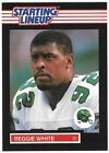 Reggie White Starting Lineup Football Card PSA Ready 1989 Mint SLU Kenner Eagles