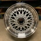 16 RS STYLE WHEELS RIMS SILVER FITS HONDA CIVIC PRELUDE INSIGHT CRX ACCORD