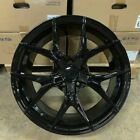 19 GLOSS BLACK REX STYLE WHEELS RIMS FITS BMW 528I 535I 5 SERIES AWD ONLY