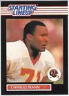Charles Mann Starting Lineup Football Card PSA Ready 1989 Mint SLU Kenner