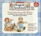 Treasures From the Heart ~ Raggedy Ann & Andy (AUDIO STORIES & MUSIC ~ 3 CDs )
