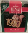 1990 HALLMARK- FABULOUS DECADE -1ST IN THE FABULOUS DECADE SERIES - MINT IN BOX