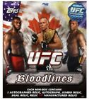 2012 Topps UFC Bloodlines Hobby Box From Sealed Case RC AU 1 1 Rousey Silva $$$