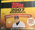 2007 Topps Updates & Highlighs Baseball Jumbo Box(10 Packs)