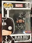 ANSON MOUNT INHUMANS BLACK BOLT SIGNED PX EXCLUSIVE FUNKO POP WITH PROTECTOR
