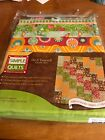 Simple Quilts Funky Cobblestone Do It Yourself Kit 48x64 Cotton New