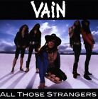Vain - All Those Strangers Cd Record New *Official* Rock Glam Metal No Respect