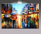 Huge Modern Abstract Wall Art Hand Oil Painting On CanvasAfter rain117No Frame