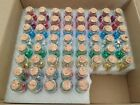 Baby Shower Party Favors Shiny Origami Stars In 10mL Jars Multicolor