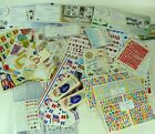 Huge Lot of Creative Memories Stickers Sheets Some Used Some Not ABC 123