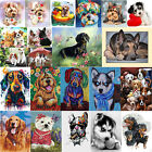 5D DIY Puppy Dogs Diamond Painting Full Drill Embroidery Cross Stitch Home Craft