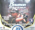 2014 Bowman Chrome Baseball Sealed Jumbo Hobby Box