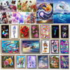DIY 5D Diamond Painting Embroidery Cross Stitch Kit Flower Animal Home Art Decor
