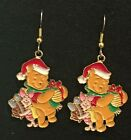 Winnie the Pooh  PIGLET Earrings Disney Surgical Hook New C Santa Christmas