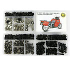 For BMW K1200GT 2006-2009 K1300GT 2009-2013 Steel Complete Fairing Bolts Screws
