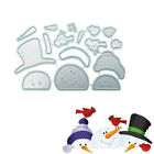 Snowman Metal Cutting Dies Stencil DIY Scrapbooking Paper Card Craft Embossing