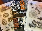NEW Lot of 3 Bootiful Night HALLOWEEN 17 Stamps  Paper Pad American Crafts