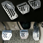 3PCS Car Accelerator Pedal Foot Pedals Pad Cover Kit Non slip For Brake Clutch