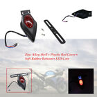 12V Retro Motorcycle Refitted LED Core Brake Tail License Plate Integrated Light