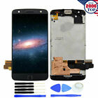 QC LCD Touch Screen Digitizer Frame For Motorola Moto Z Force  XT1650-02