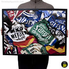 Vintage Cycling Jersey Mix Print Poster Wall Art Sports Retro Bicycle Velo Decor