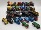 Lot Of 26 Brio & Thomas The Train and Friends Wooden Metal Engines and Cars Set
