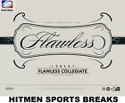 2019 Panini Flawless College Football Factory Sealed Hobby Box