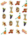 Fall Harvest Waterslide Water Transfer Nail Decals Nail Art