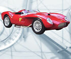 Auto Drawings Scale 1/12 1/16 1/24 & 1/32 Ferrari 250 Testa Rossa Digital on Cd