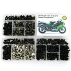 Full Fairing Bolts Screws Fasteners Kit For Kawasaki ZX14R ZZR 1400 2012-2019