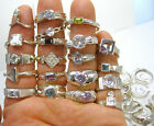 50 GRAMS Wholesale Mixed Variety Lot NEW 925 Sterling Silver Approx 9 15 Rings