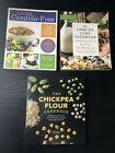 Lot of 2 Cookbooks Living Candida Free  The Candida Cure Cookbook w Bonus Book