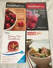 Weight Watchers Meet PointsPlus 2012 Living PP Dining Out Companion 4 Books NICE